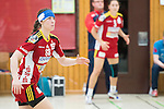 Bensheim, Germany, May 17: Martha Logdanidou #88 of HSG Bensheim/Auerbach in action during the match between HSG Bensheim/Auerbach and SG BBM Bietigheim in the HBF 1. Bundesliga Damen Saison 2013/2014  on  May 17, 2014 at Weststadthalle Bensheim in Bensheim, Germany. Final score 21:26 (11:16) (Photo by Dirk Markgraf / www.265-images.com) *** Local caption *** *** Local  caption ***