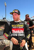 Apr 16, 2011; Surprise, AZ USA; LOORRS driver Kyle Leduc (99) during round 3 at Speedworld Off Road Park. Mandatory Credit: Mark J. Rebilas-.