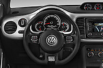 Car pictures of steering wheel view of a 2014 Volkswagen Beetle Sport R-Line 3 Door Hatchback 2WD Steering Wheel