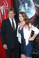 Denis Leary and daughter Devin Leary at the premiere of Columbia Pictures' 'The Amazing Spider-Man' at the Regency Village Theatre on June 28, 2012 in Westwood, California. &copy; mpi22/MediaPunch Inc. *NORTEPHOTO.COM*<br />