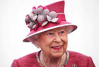Queen Elizabeth II - Kings Troop Royal Horse Artillery 70th Parade