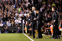 Fulham manager, Slavisa Jokanovic during the Sky Bet Championship play off semi final 2nd leg match between Fulham and Derby County at Craven Cottage, London, England on 15 May 2018. Photo by Carlton Myrie / PRiME Media Images.