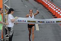 RIO DE JANEIRO-08/07/2012-A Brasileira Graziete Moreira, terceira colocada na Maratona Caixa da Cidade do Rio de Janeiro, realizada no Aterro do Flamengo, zona sul do Rio.FOTO: Marcelo Fonseca-Brazil Photo Press