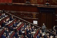 Roma, 19 Aprile 2013.Camera dei Deputati.Votazione del Presidente della Repubblica a camere riunite.Quarto Scrutinio..Lo spoglio