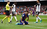 Luis Suarez, FC Barcelona 2 a 1 Valencia FC Jornada 32 de liga, 14 Abril 2018, Estadio Camp Nou, Barcelona. Photo Martin Seras Lima