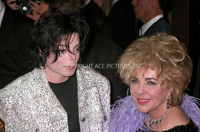 WWW.ACEPIXS.COM................June 25 2009....File picture of Michael Jackson who died following cardiac arrest at his home in LA, June 25 2009....Please byline: AJ SOKALNER-ACEPIXS.COM..  ***  ..Ace Pictures, Inc:  ..tel: (646) 769 0430..e-mail: info@acepixs.com..web: http://www.acepixs.com