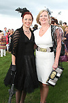 Maria and Mary Grandfield at the Bellewstown Races...Photo NEWSFILE/Jenny Matthews.(Photo credit should read Jenny Matthews/NEWSFILE)....This Picture has been sent you under the condtions enclosed by:.Newsfile Ltd..The Studio,.Millmount Abbey,.Drogheda,.Co Meath..Ireland..Tel: +353(0)41-9871240.Fax: +353(0)41-9871260.GSM: +353(0)86-2500958.email: pictures@newsfile.ie.www.newsfile.ie.FTP: 193.120.102.198.