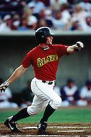 Doug Clark of the Bakersfield Blaze during a California League baseball game circa 1999. (Larry Goren/Four Seam Images)