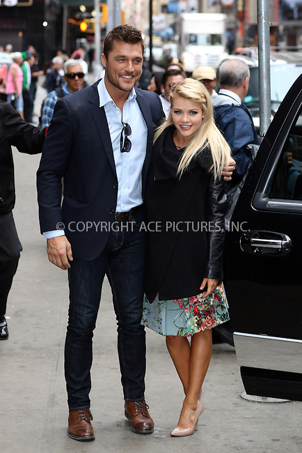WWW.ACEPIXS.COM<br /> <br /> May 6 2015, New York City<br /> <br /> <br /> Chris Soules and Witney Carson, who were eliminated from DWTS made an appearance at Good Morning America on May 6 2015 in New York City<br /> <br /> By Line: Zelig Shaul/ACE Pictures<br /> <br /> <br /> ACE Pictures, Inc.<br /> tel: 646 769 0430<br /> Email: info@acepixs.com<br /> www.acepixs.com