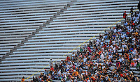 May 1, 2009; Richmond, VA, USA; NASCAR Nationwide Series fans in the grandstands during the Lipton Tea 250 at the Richmond International Raceway. Mandatory Credit: Mark J. Rebilas-