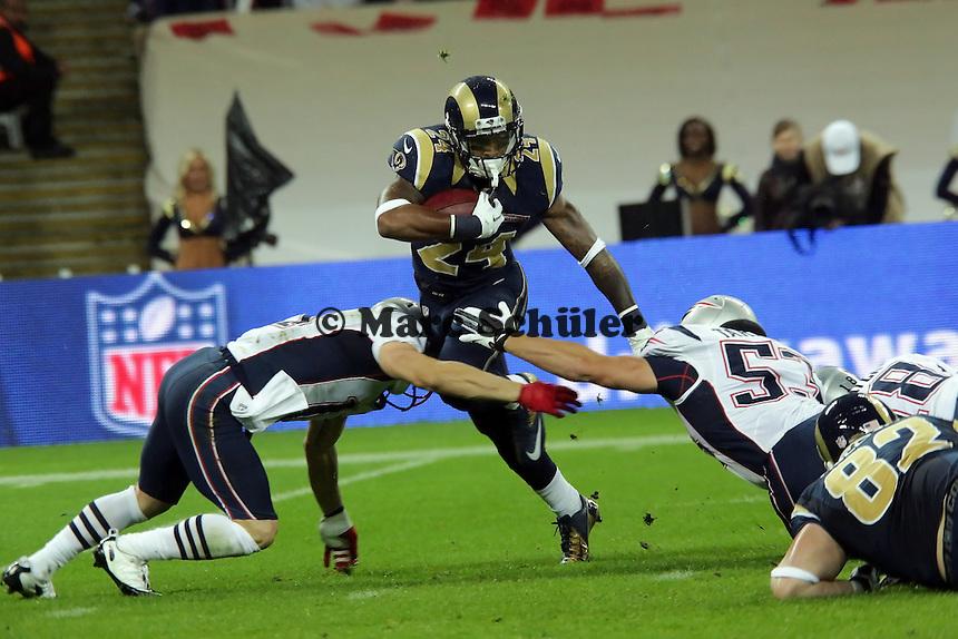 RB Isiah Pead (Rams) wird gestoppt