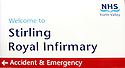 20040401     Copyright Pic : James Stewart.File Name : jspa11_hospital_row.STIRLING ROYAL INFIRMARY SIGN....James Stewart Photo Agency 19 Carronlea Drive, Falkirk. FK2 8DN      Vat Reg No. 607 6932 25.Office     : +44 (0)1324 570906     .Mobile  : +44 (0)7721 416997.Fax         :  +44 (0)1324 570906.E-mail  :  jim@jspa.co.uk.If you require further information then contact Jim Stewart on any of the numbers above.........