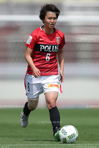 Ruka Norimatsu (Reds Ladies), April 30, 2016 - Football / Soccer : Ruka Norimatsu of Urawa Reds Ladies runs with the ball during the Nadeshiko League match between Urawa Reds Ladies and INAC Kobe Leonessa at Urawa Komaba Stadium in Saitama, Japan (Photo by AFLO)