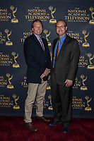 NEW YORK CITY - MAY 08: Pete Macheska and Matt Gangl attend the Sports Emmy Awards at Jazz at Lincoln Center's Frederick P. Rose Hall in Manhattan on May 08, 2018 in New York City. (Photo by Anthony Behar/FX/PictureGroup)