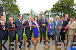 Padraig McGillycuddy, Michael Scannell, Tralee Town Clerk, County Manager Tom Curran, Mayor of Tralee Pat Hussey, Nicola McEvoy, Rose of Tralee 2012, Minister Leo Varadkar, Alice O'Sullivan Rose of Tralee 1959, Michael McMahon, Tralee Town Manager, Anthony O'Gara CEO Rose of Tralee, Arthur Spring TD and Joe Carey.