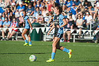 Kansas City, MO - Sunday September 11, 2016: Katie Naughton during a regular season National Women's Soccer League (NWSL) match between FC Kansas City and the Chicago Red Stars at Swope Soccer Village.