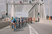 "harbour backdrop<br /> <br /> Antwerp Port Epic 2018 (formerly ""Schaal Sels"")<br /> One Day Race:  Antwerp > Antwerp (207 km; of which 32km are cobbles & 30km is gravel/off-road!)"