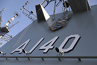 SANTOS, SP, 08.09.2019 - MARINHA-SP - Porta-Helicópteros Multipropósito (PHM) Atlântico, da Marinha do Brasil, aberto a visitação pública no Porto de Santos - SP, neste domingo, 8. (Foto Charles Sholl/Brazil Photo Press/Folhapress)