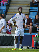 Trevoh Chalobah (Chelsea) of England U19 during the International match between England U19 and Netherlands U19 at New Bucks Head, Telford, England on 1 September 2016. Photo by Andy Rowland.