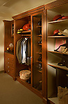 Custom closet built on a set and proped.