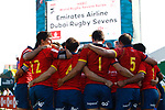 Spain, Day 1 on the 29 November, Dubai Sevens 2018 at The Sevens for HSBC World Rugby Sevens Series 2018, Dubai - UAE - Photos Martin Seras Lima