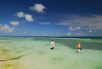 Wading in Los Roques