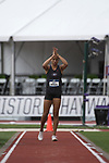 EUGENE, OR - JUNE 10: Kendell Williams of the University of Georgia competes in the long jump as part of the Heptathlon during the Division I Women's Outdoor Track & Field Championship held at Hayward Field on June 10, 2017 in Eugene, Oregon. (Photo by Jamie Schwaberow/NCAA Photos via Getty Images)
