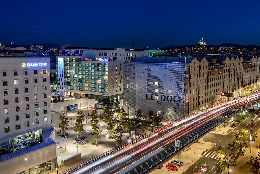 Quartier Euroméditerranée - Marseille 2016