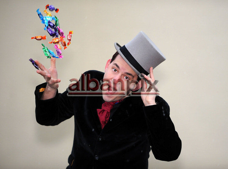 ©Albanpix.com. Pic by Rob Howarth.John Denton from Lowestoft, Suffolk who has changed his name by deed poll to Willy Wonka