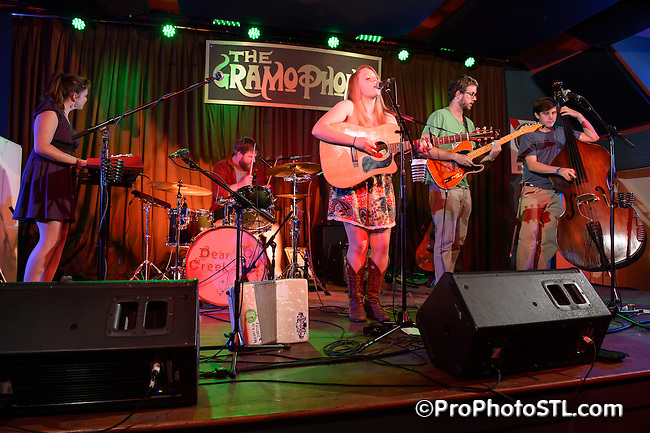 Dear Creek in concert at The Gramophone in St. Louis, MO on Aug 5, 2012.