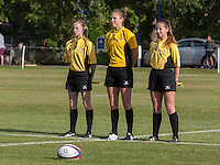 U20 England Women v U20 Canada Women at Trent College, Derby Road, Long Eaton, England, on 26th August 2016