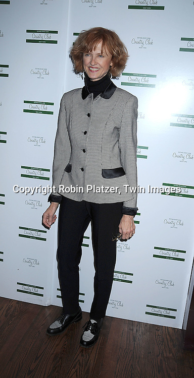 """Jill Larson, actress in this movie and on All My Children.. arriving at The New York Novie Premiere party for """"Were The World Mine"""" on November 21, 2008 at Country Club.....Robin Platzer, Twin Images"""