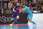 League LNFS 2017/2018.<br /> PlayOff Final-Game 4.<br /> FC Barcelona Lassa vs Movistar Inter FS: 3-3.<br /> FCB por penaltys.<br /> Dyego vs Tafly.