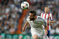 Real Madrid's Spanish defense Dani Carvajal