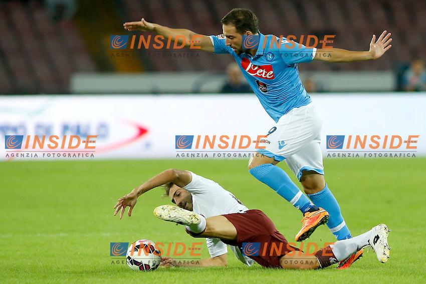 Gonzalo Higuain Napoli,  <br /> Napoli 05-10-2014 Stadio San Paolo <br /> Football Calcio Serie A Napoli - Torino<br /> Foto Cesare Purini / Insidefoto