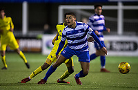 Christian Oxlade-Chamberlain (on loan from Portsmouth) of Oxford City during the Oxfordshire Senior Cup Semi-Final match between Oxford City and Oxford United at the Marsh Lane, Marston, England on 6 March 2018. Photo by Andy Rowland / PRiME Media Images.
