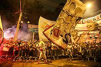 SÃO PAULO,SP, 06.07.2016 - SÃO PAULO-NACIONAL - Torcedores do São Paulo antes partida contra o Atlético Nacional (Colombia) jogo de ida das semi-finais da Taça Libertadores da América no Estádio Cicero Pompeu de Toledo, o Morumbi, nesta quarta-feira, 06. (Foto: William Volcov/Brazil Photo Press )