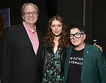 Douglas Aibel, Rebeca Robles and Lea Delaria  during the Vineyard Theatre's Emerging Artists Luncheon honoring Charly Evon Simpson with the Paula Vogel Playwriting Award at the National Arts Club on November 25, 2019 in New York City.