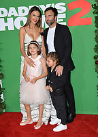 Alessandra Ambrosio, Jamie Mazur &amp; Family at the premiere for &quot;Daddy's Home 2&quot; at the Regency Village Theatre, Westwood. Los Angeles, USA 05 November  2017<br /> Picture: Paul Smith/Featureflash/SilverHub 0208 004 5359 sales@silverhubmedia.com