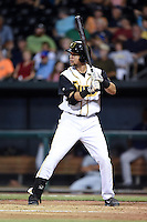 Jacksonville Suns first baseman Viosergy Rosa (44) at bat during game three of the Southern League Championship Series against the Chattanooga Lookouts on September 12, 2014 at Bragan Field in Jacksonville, Florida.  Jacksonville defeated Chattanooga 6-1 to sweep three games to none.  (Mike Janes/Four Seam Images)