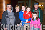 WEDDING FAIR: Enjoying the Cartlon hotel wedding fair on Sunday l-r: William Doody, Catherine O'Connell, Joanne O'Connell, Alannah Doody, Katelyn O'Connell and Patrick O'Connell, Ballymac and Tralee...
