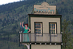 IN AND AROUND DAWSON CITY, YUKON, CANADA. GOLD RUSH CITY