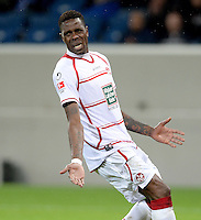 Fussball 1. Bundesliga 2012/2013: Relegation  Bundesliga / 2. Liga  TSG 1899 Hoffenheim  - 1. FC Kaiserslautern          23.05.2013 Mohamadou Idrissou (1. FC Kaiserslautern) ist enttaeuscht