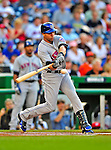6 June 2009: New York Mets' center fielder Carlos Beltran in action against the Washington Nationals at Nationals Park in Washington, DC. The Mets fell to the Nationals 7-1 as Nats' starting pitcher John Lannan tossed his first career complete-game win. Mandatory Credit: Ed Wolfstein Photo