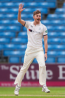Picture by Alex Whitehead/SWpix.com - 23/04/2018 - Cricket - Specsavers County Championship Div One - Yorkshire v Nottinghamshire, Day 4 - Emerald Headingley Stadium, Leeds, England - Yorkshire's Ben Coad appeals.