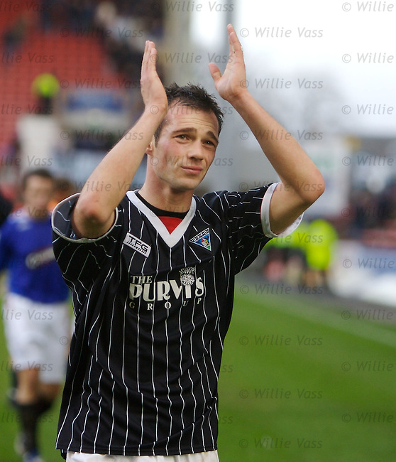 Darren Young, Dunfermline.stock season 2006-2007.pic willie vass