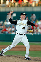 Mat Latos - San Antonio Missions.2009 Texas League All-Star game held at Dr. Pepper Ballpark, Frisco, TX - 07/01/2009. The game was won by the North Division, 2-1..Photo by:  Bill Mitchell/Four Seam Images