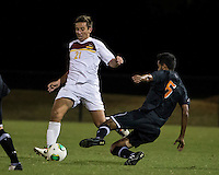 The Winthrop University Eagles lose 2-1 in a Big South contest against the Campbell University Camels.  Pietro Bottari (21), Chirag Shah (6)