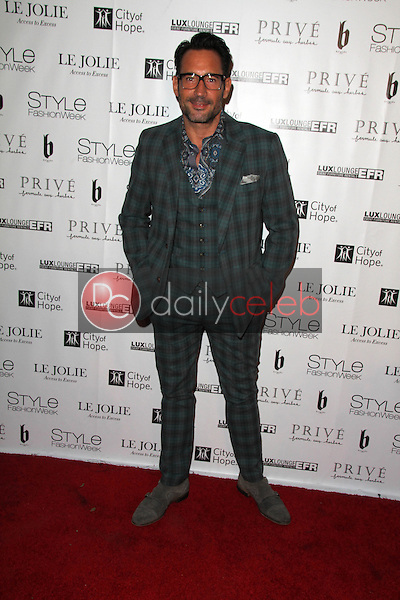 Gregory Zarian<br /> at Sue Wong's 'Fairies and Sirens' Fashion Show at L.A. Fashion Week. The Reef, Los Angeles, CA 10-15-14<br /> David Edwards/Dailyceleb.com 818-249-4998