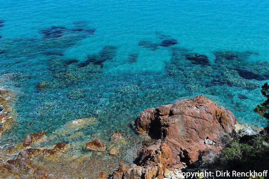 Bucht von Fautea, Korsika, Frankreich